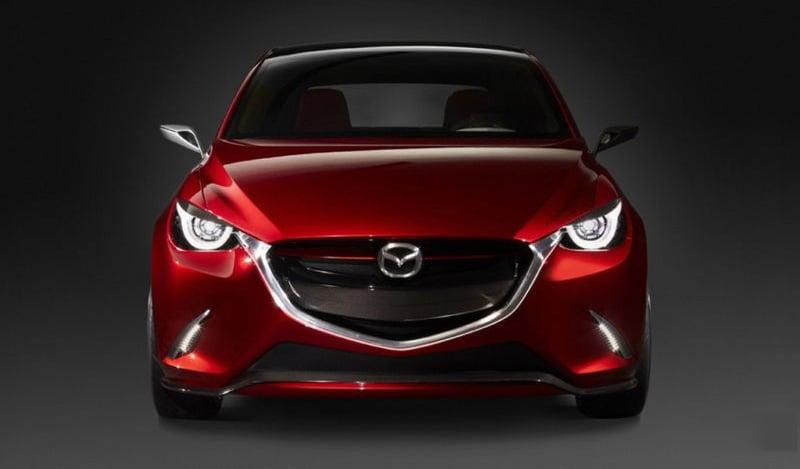 Mazda Hazumi Concept previews next-gen Mazda 2 Image #232286
