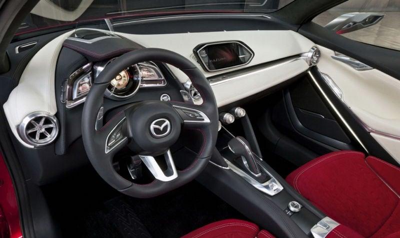Mazda Hazumi Concept previews next-gen Mazda 2 Image #232290