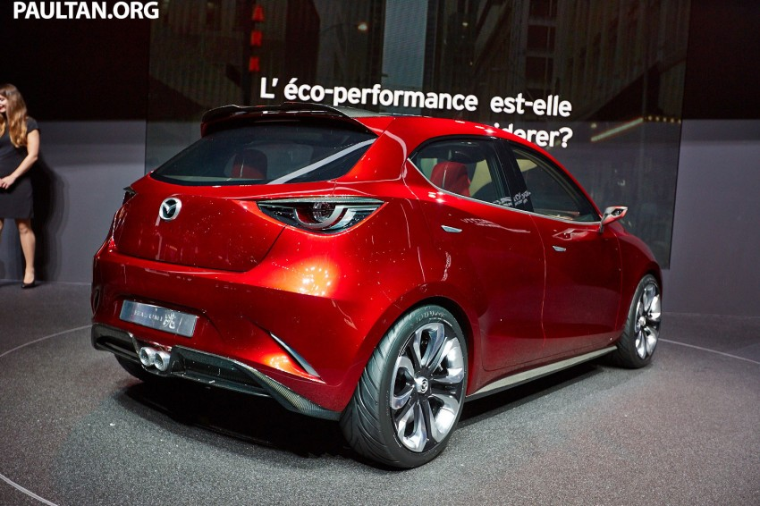 Mazda Hazumi Concept previews next-gen Mazda 2 Image #232723