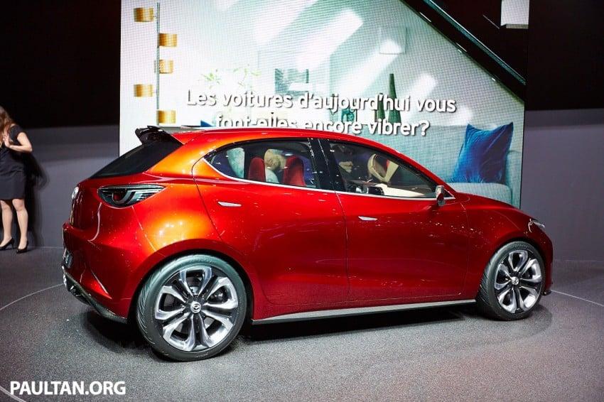 Mazda Hazumi Concept previews next-gen Mazda 2 Image #232724