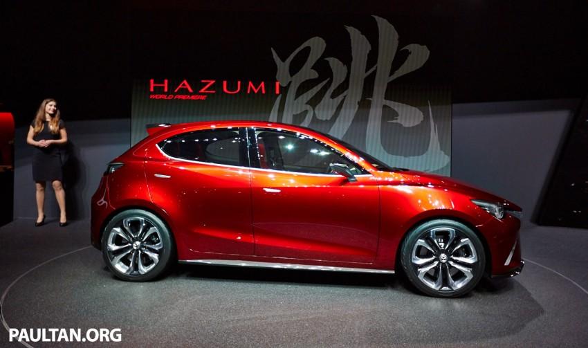 Mazda Hazumi Concept previews next-gen Mazda 2 Image #232725