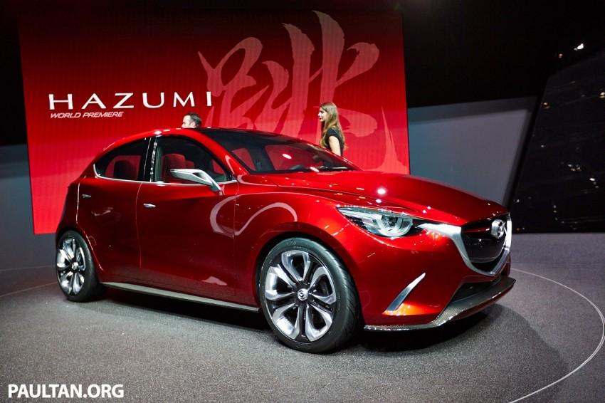 Mazda Hazumi Concept previews next-gen Mazda 2 Image #232727