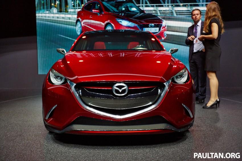 Mazda Hazumi Concept previews next-gen Mazda 2 Image #232729