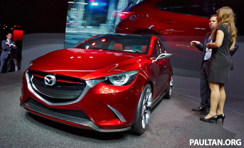 Mazda Hazumi Concept previews next-gen Mazda 2 Image #232731