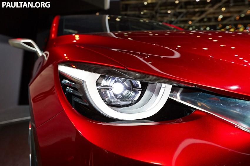 Mazda Hazumi Concept previews next-gen Mazda 2 Image #232733