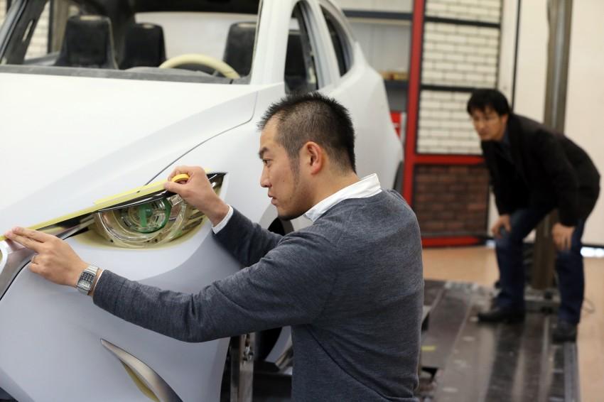 Mazda Hazumi Concept previews next-gen Mazda 2 Image #233133