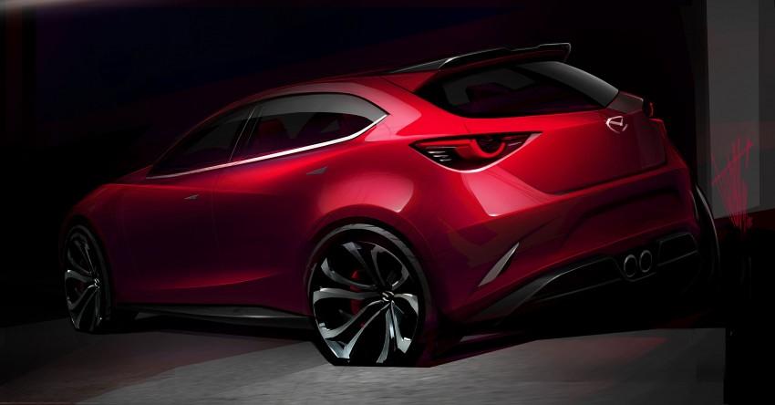 Mazda Hazumi Concept previews next-gen Mazda 2 Image #233114