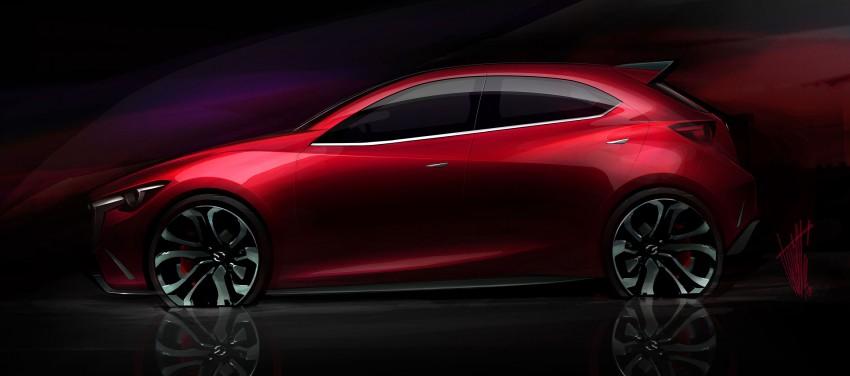 Mazda Hazumi Concept previews next-gen Mazda 2 Image #233115