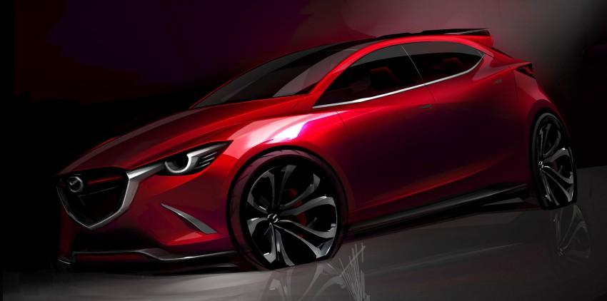 Mazda Hazumi Concept previews next-gen Mazda 2 Image #233116