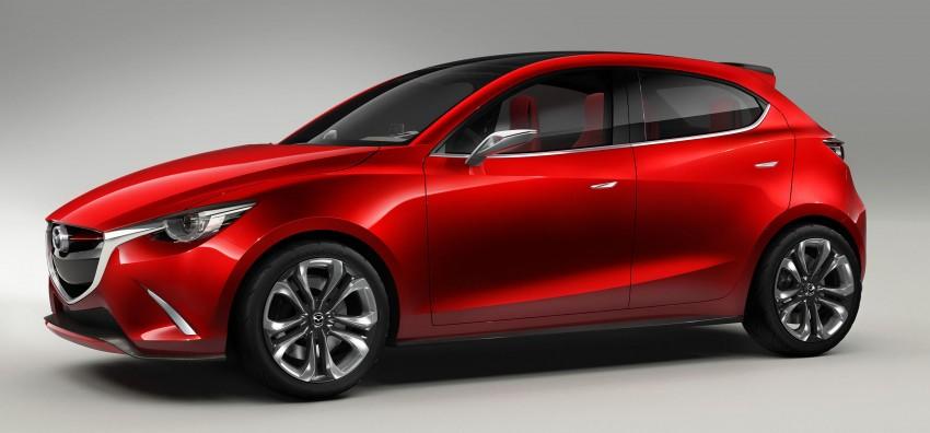 Mazda Hazumi Concept previews next-gen Mazda 2 Image #233117