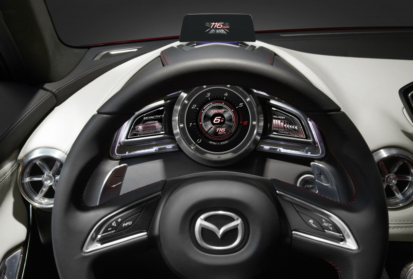 Mazda Hazumi Concept previews next-gen Mazda 2 Image #233139