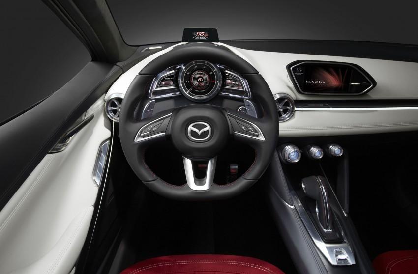 Mazda Hazumi Concept previews next-gen Mazda 2 Image #233140