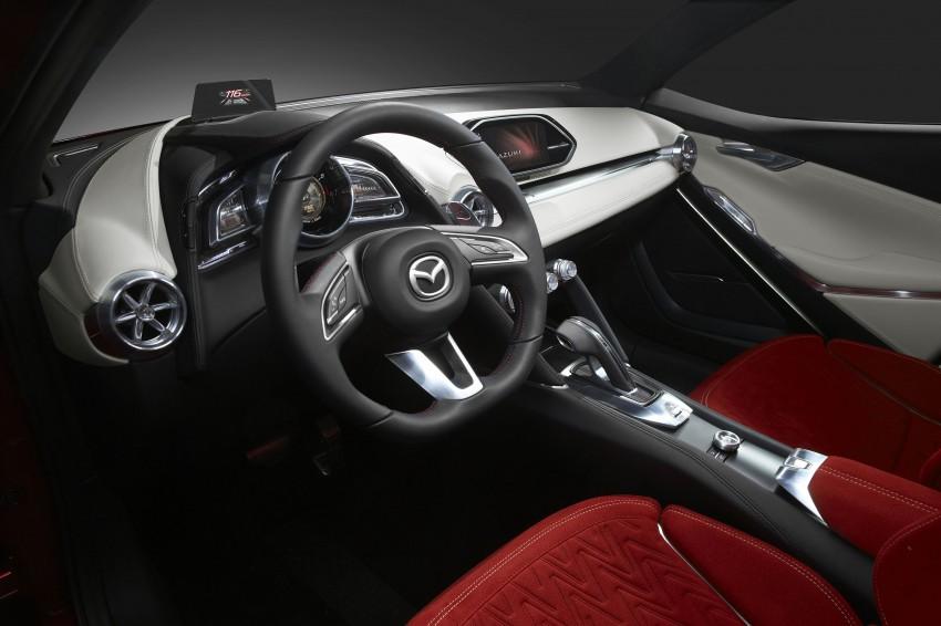 Mazda Hazumi Concept previews next-gen Mazda 2 Image #233142