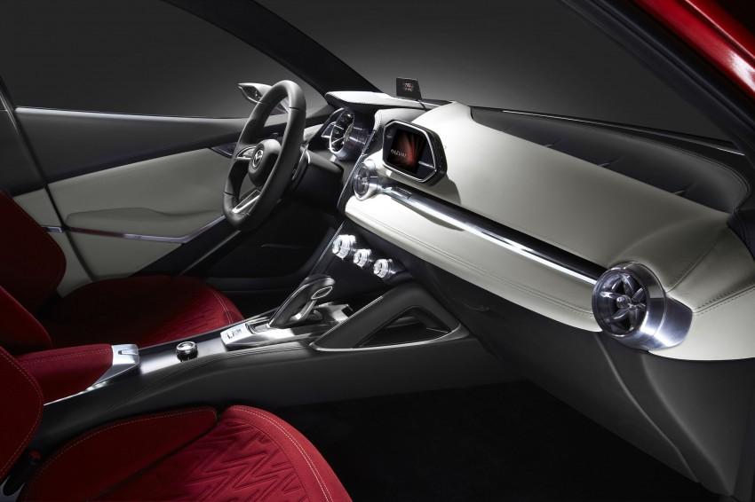Mazda Hazumi Concept previews next-gen Mazda 2 Image #233143