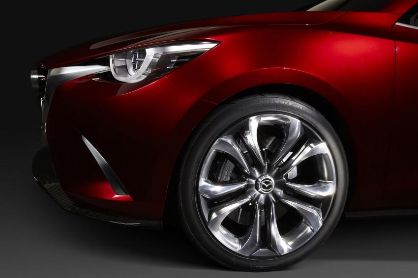 Mazda Hazumi Concept previews next-gen Mazda 2 Image #233144