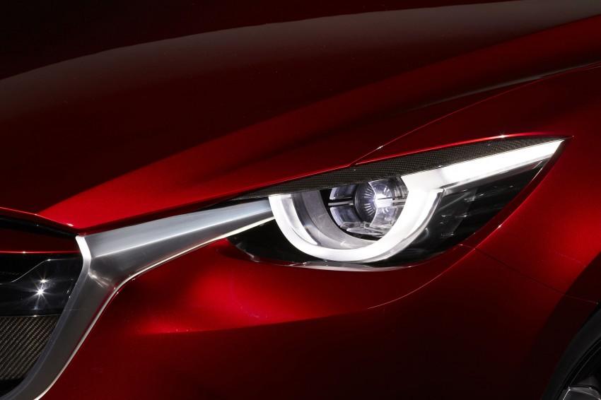 Mazda Hazumi Concept previews next-gen Mazda 2 Image #233146