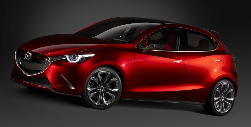 Mazda Hazumi Concept previews next-gen Mazda 2 Image #233119