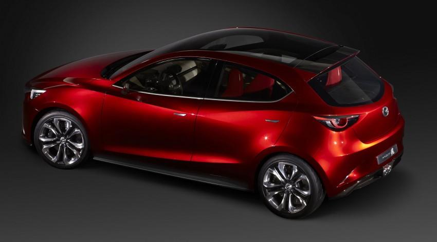 Mazda Hazumi Concept previews next-gen Mazda 2 Image #233120