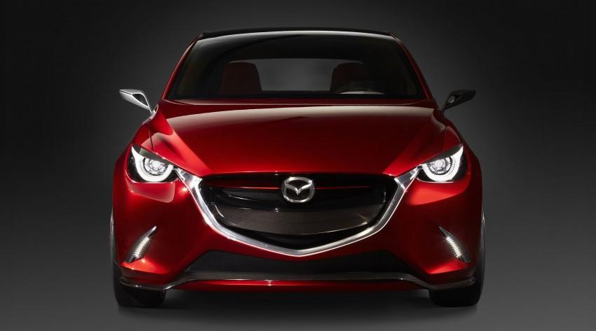 Mazda Hazumi Concept previews next-gen Mazda 2 Image #233121