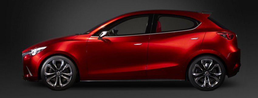 Mazda Hazumi Concept previews next-gen Mazda 2 Image #233123