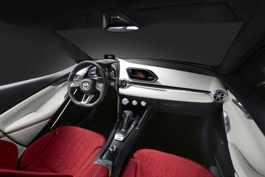 Mazda Hazumi Concept previews next-gen Mazda 2 Image #233148