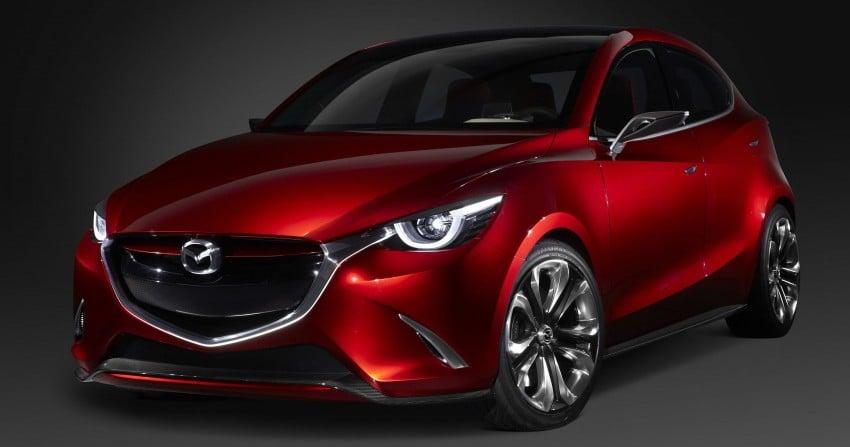 Mazda Hazumi Concept previews next-gen Mazda 2 Image #233126
