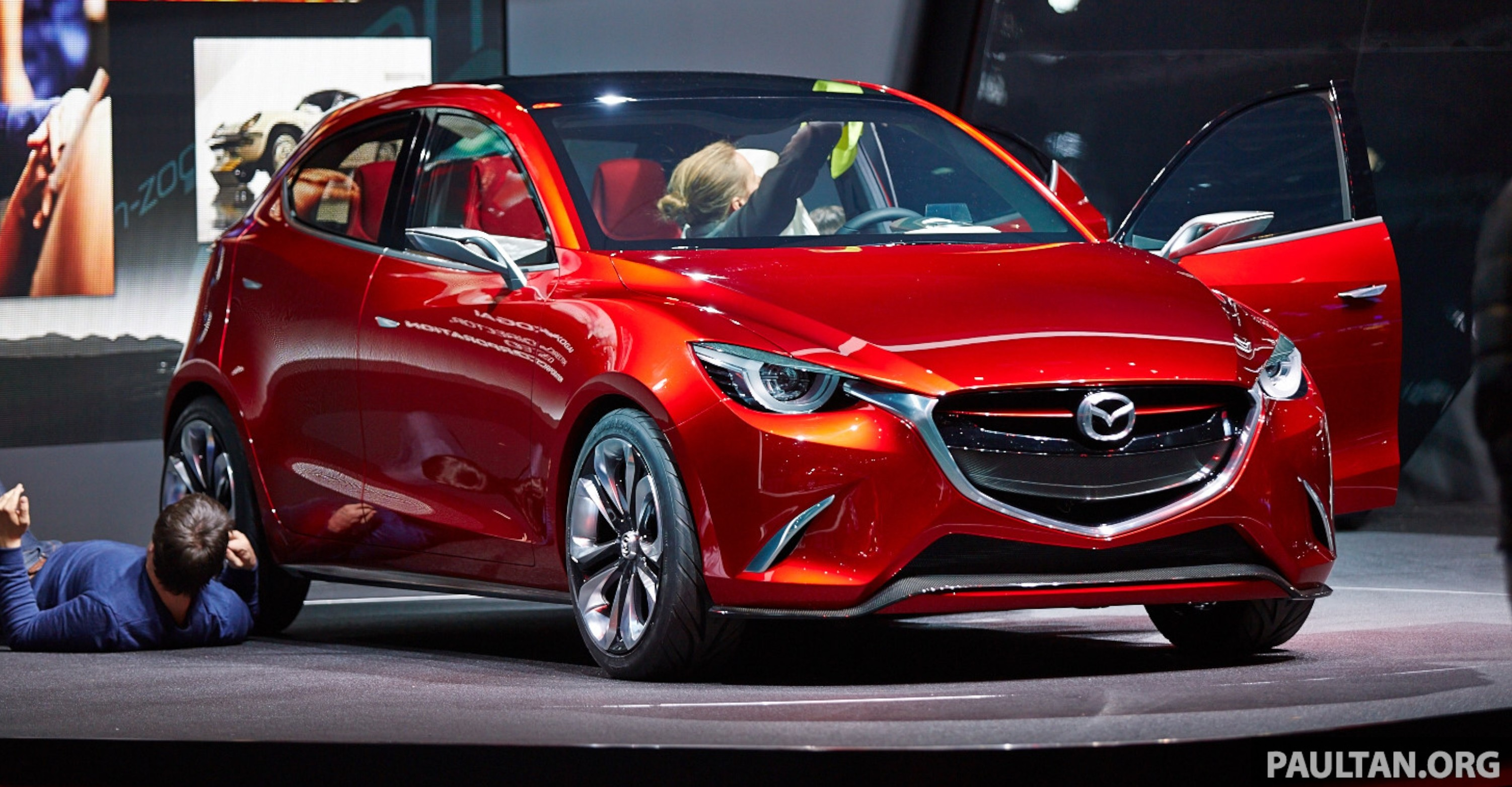 mazda hazumi concept previews next gen mazda 2. Black Bedroom Furniture Sets. Home Design Ideas