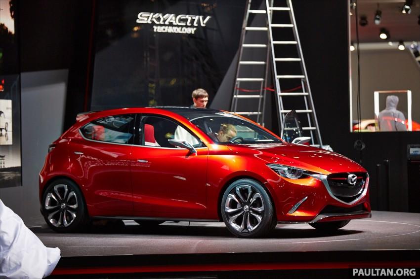 Mazda Hazumi Concept previews next-gen Mazda 2 Image #232297