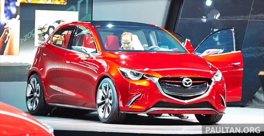 Mazda Hazumi Concept previews next-gen Mazda 2 Image #232295