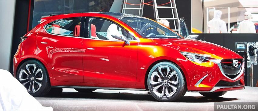 Mazda Hazumi Concept previews next-gen Mazda 2 Image #232296