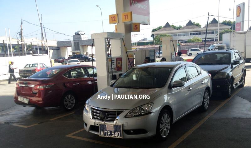 SPIED: New Nissan Sylphy sighted around Kepong! Image #237775