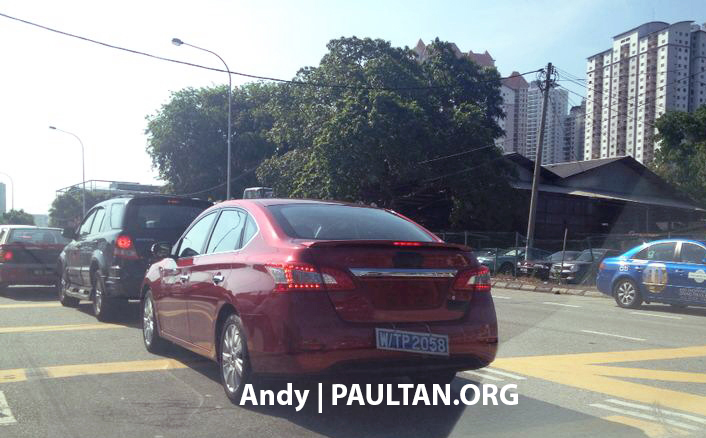 SPIED: New Nissan Sylphy sighted around Kepong! Image #237778