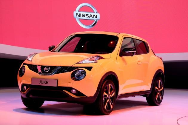 Nissan Juke facelift