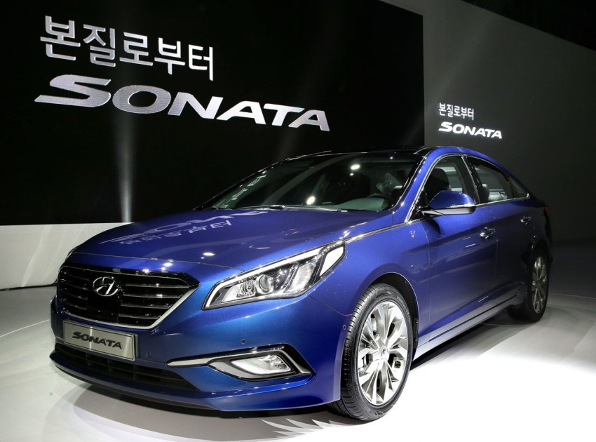 2015 Hyundai Sonata makes its world debut in Korea Image #236903