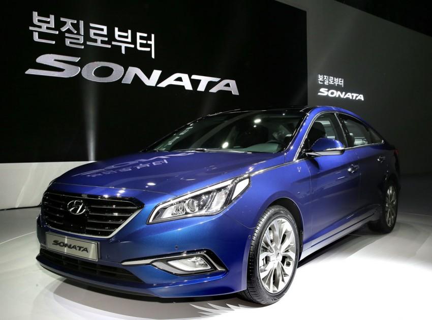 2015 Hyundai Sonata makes its world debut in Korea Image #236903
