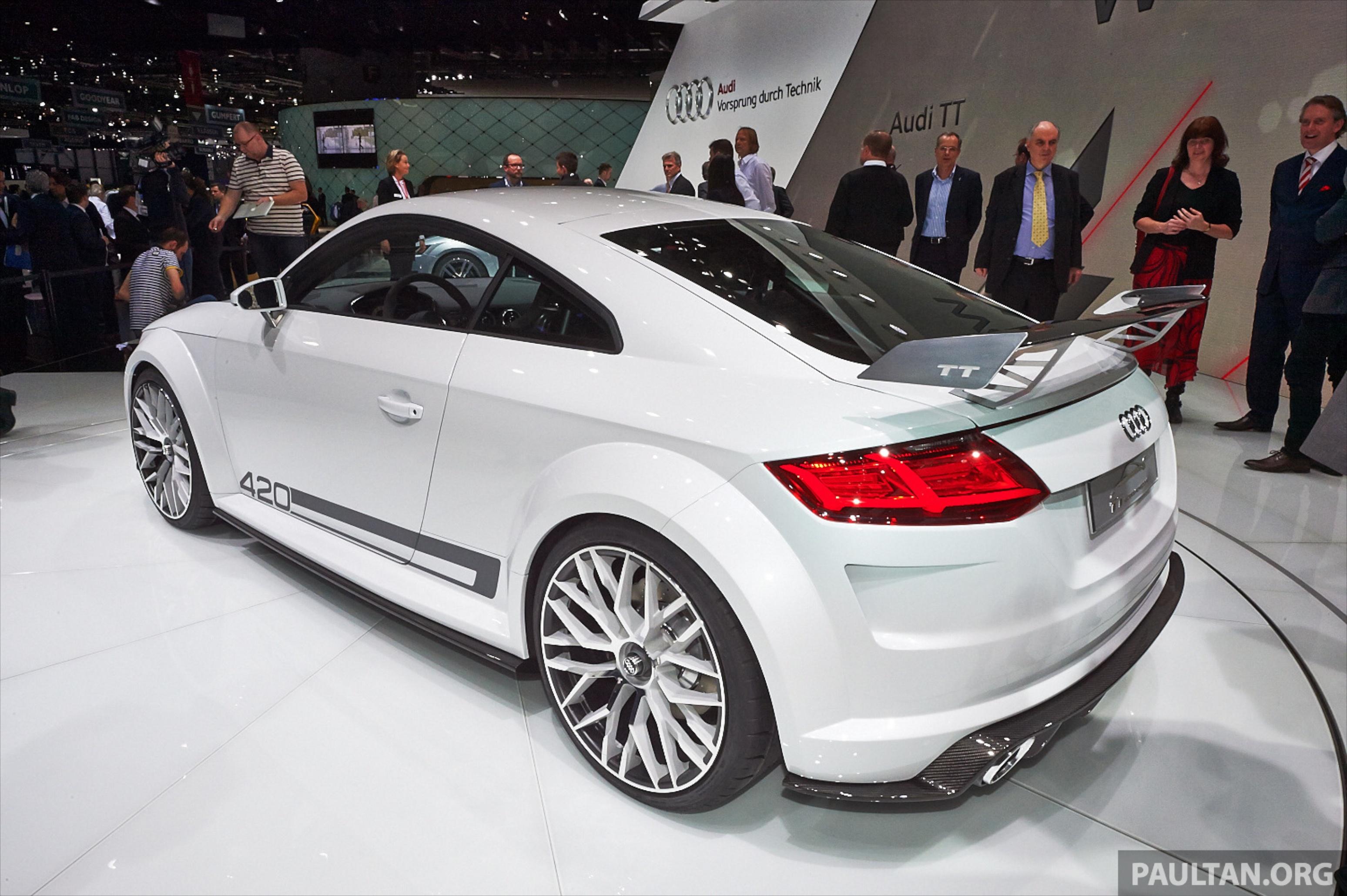 Audi Tt Quattro Sport Concept Is This The New Tt Rs Paul