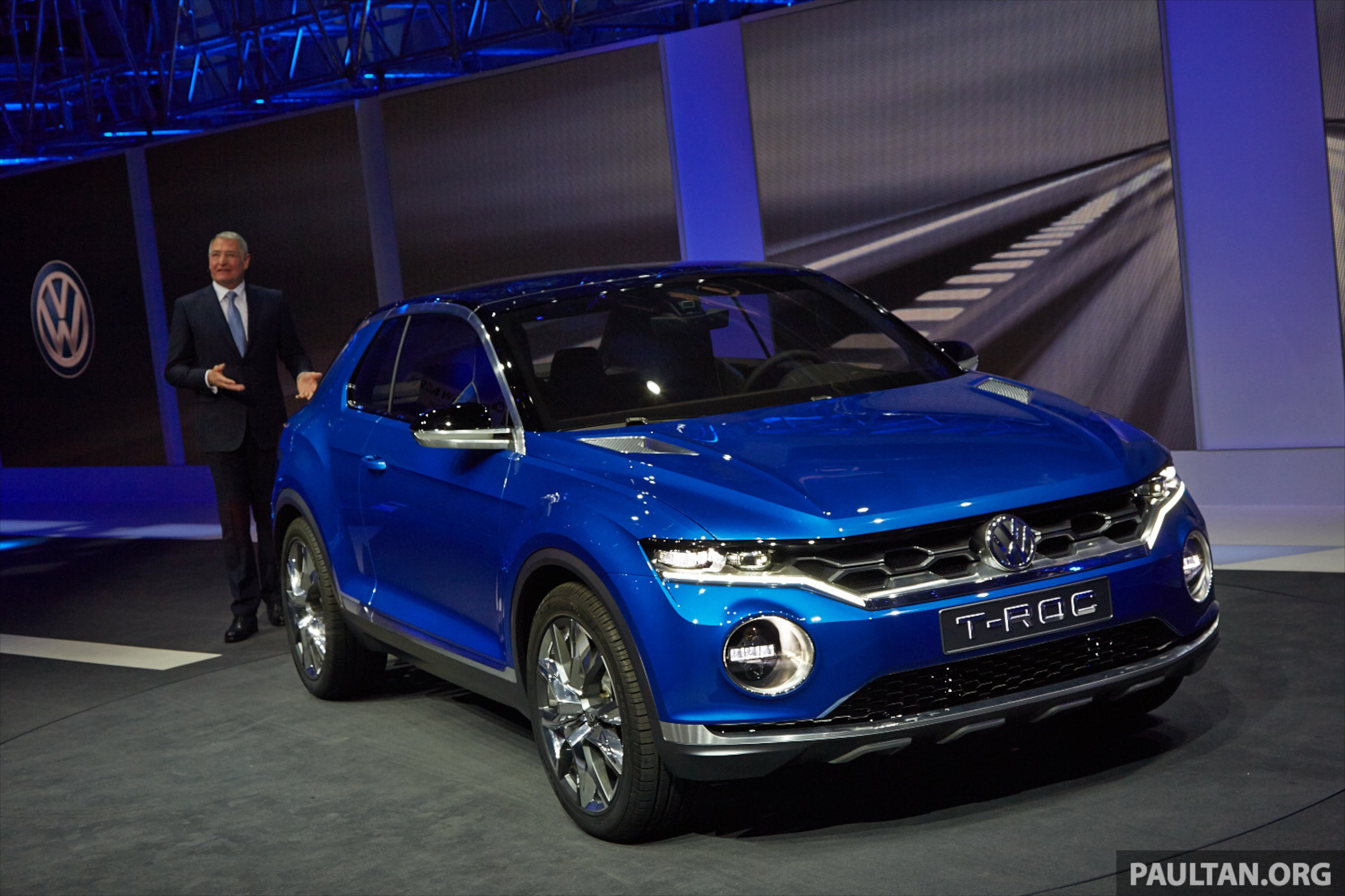 Volkswagen T-ROC Concept previews upcoming SUV Paul Tan - Image 232483