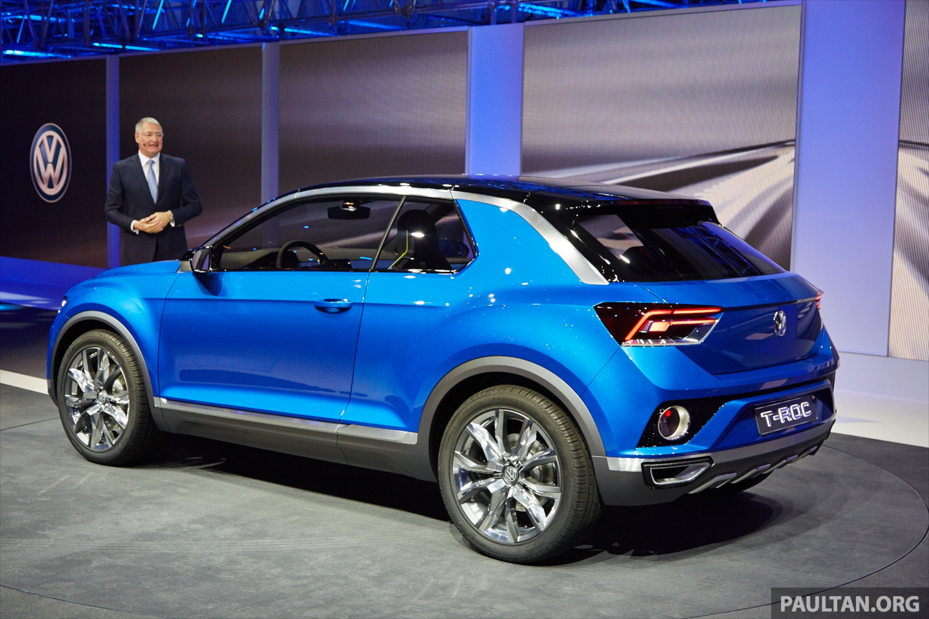 2018 Volkswagen Suv >> Volkswagen T-ROC Concept previews upcoming SUV Image 232471