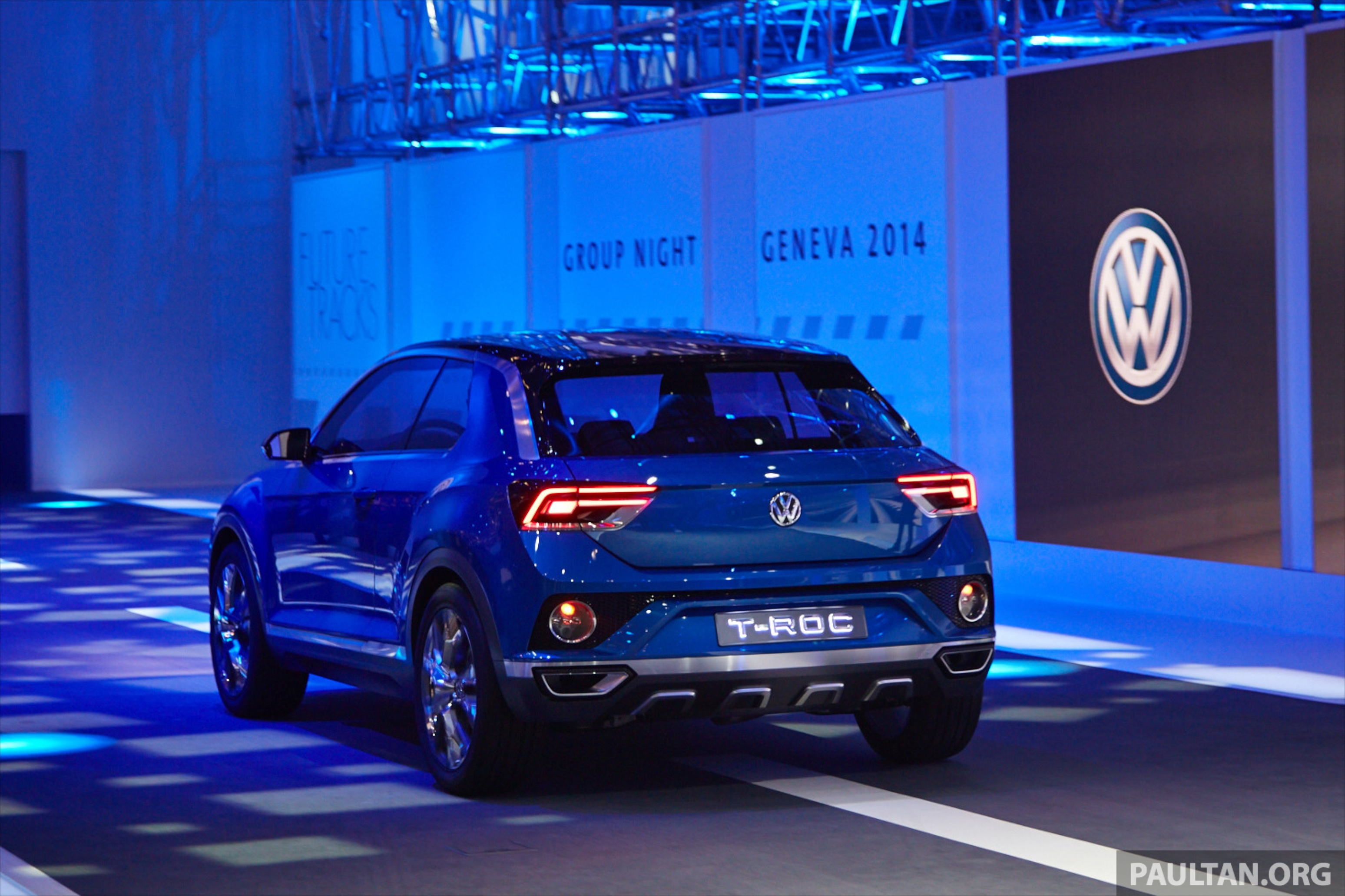 2018 Vw Suv >> Volkswagen T-ROC Concept previews upcoming SUV Image 232470