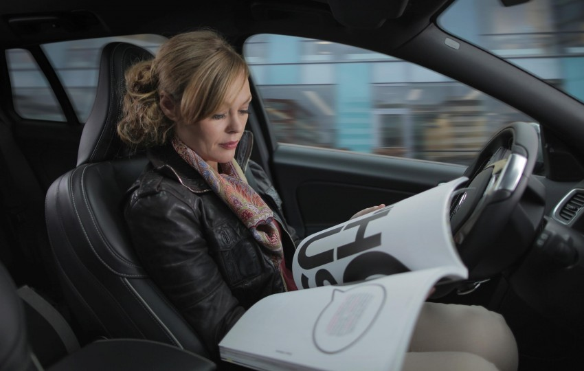 Volvo evaluates road-integrated magnet system for accurate positioning of self-driving cars Image #234839