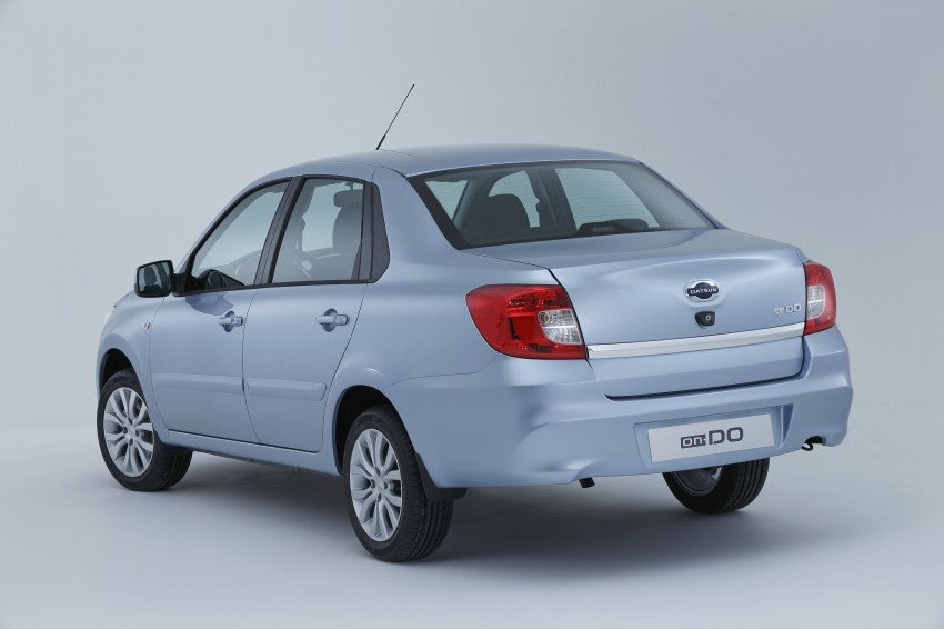 Datsun on-DO sedan – based on Lada, made in Russia Image #240697