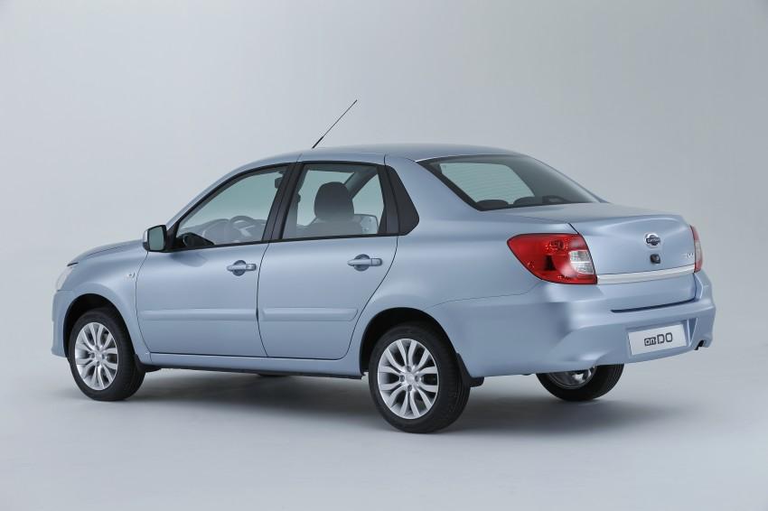 Datsun on-DO sedan – based on Lada, made in Russia Image #240706