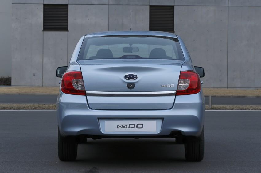 Datsun on-DO sedan – based on Lada, made in Russia Image #240669