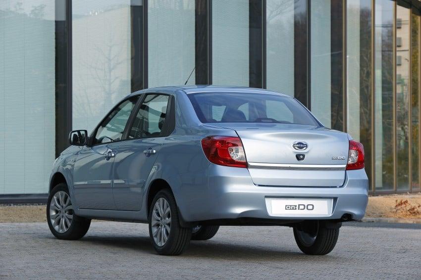 Datsun on-DO sedan – based on Lada, made in Russia Image #240689