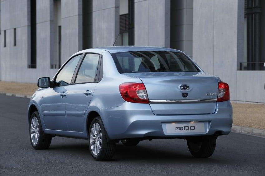 Datsun on-DO sedan – based on Lada, made in Russia Image #240667