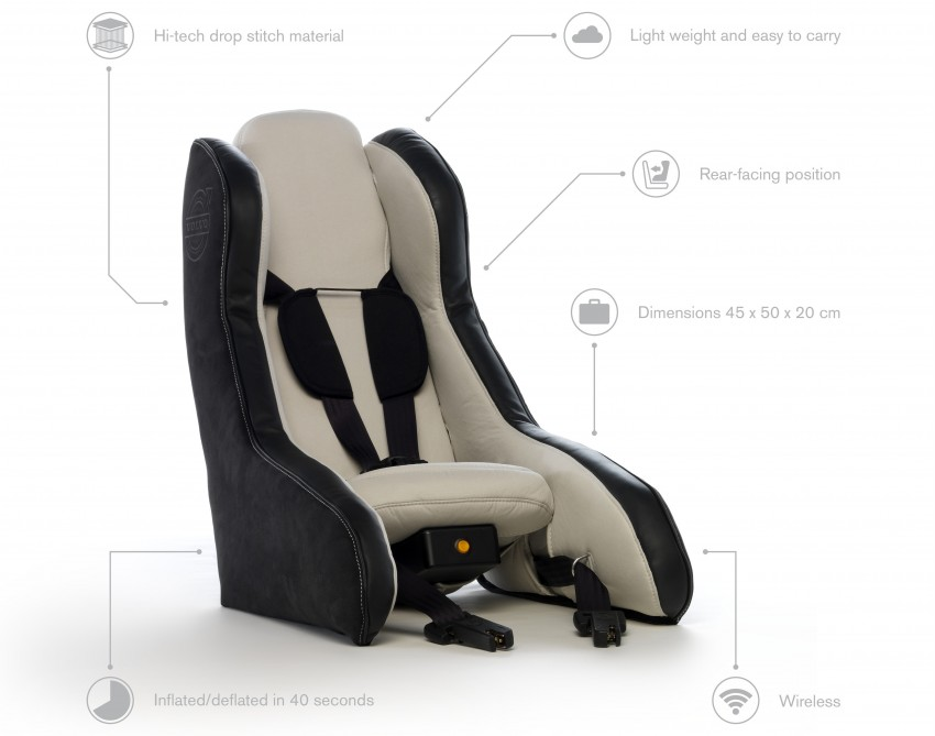 Volvo Inflatable Child Seat Concept – portable safety Image #241177