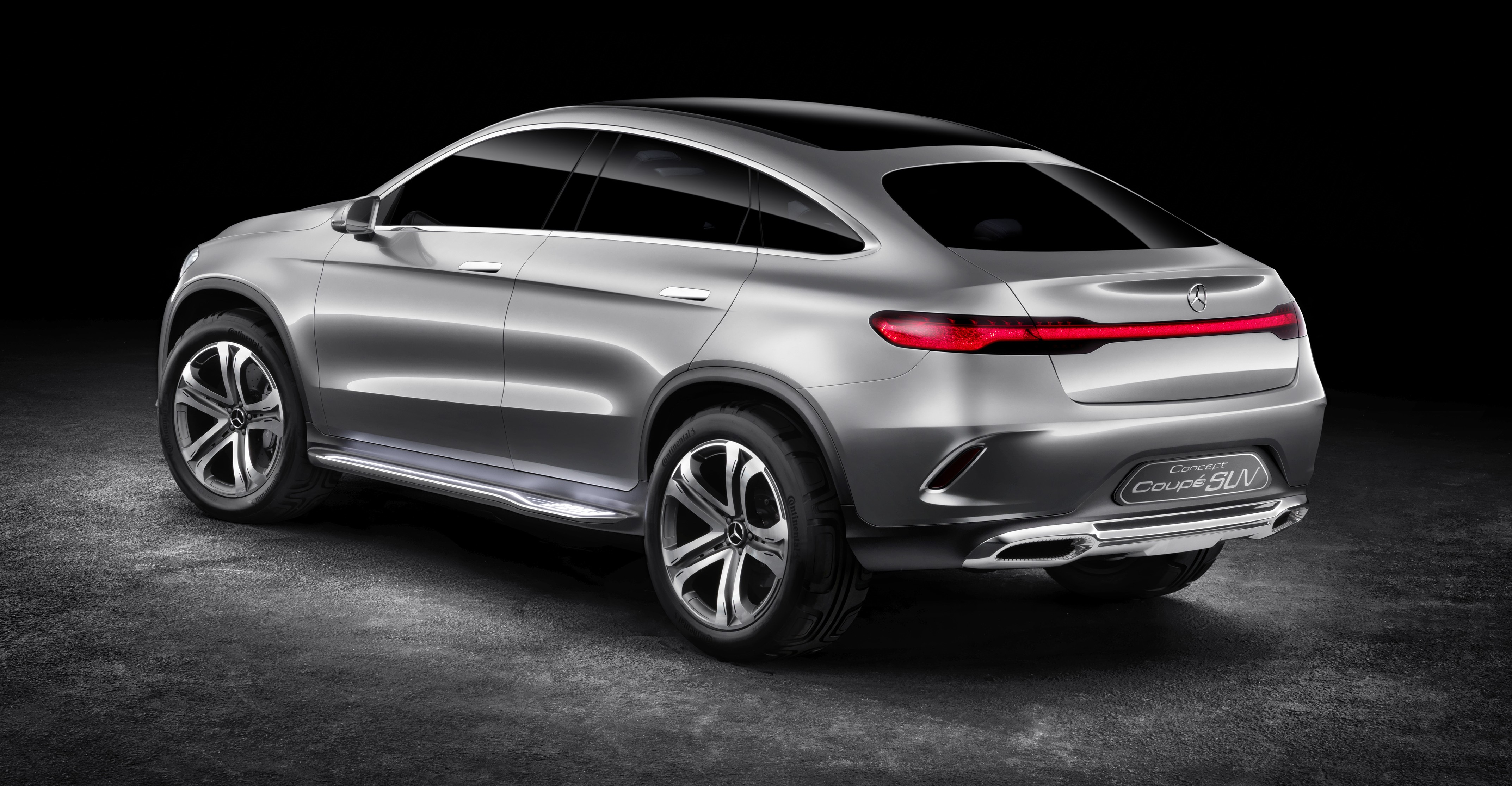 Mercedes Benz Coupe Suv Concept Previews X6 Rival Paul Tan