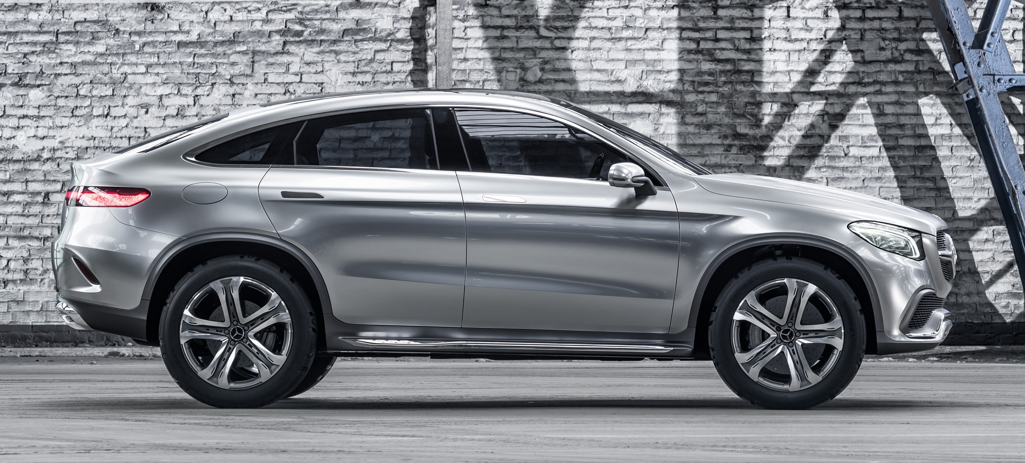 Mercedes benz coupe suv concept previews x6 rival image 242559 for Mercedes benz x6