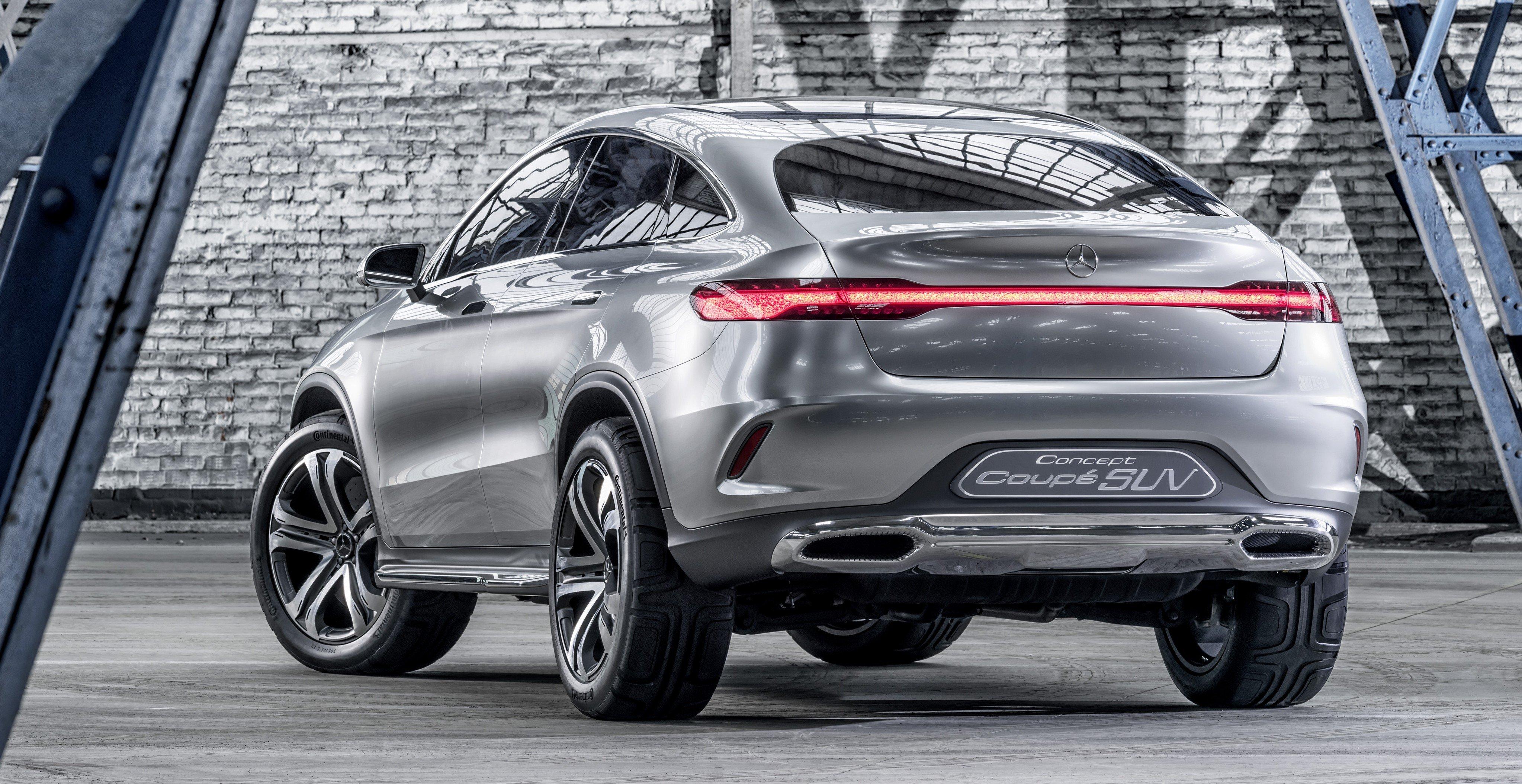 Mercedes benz coupe suv concept previews x6 rival image 242561 for Mercedes benz concept coupe suv interior