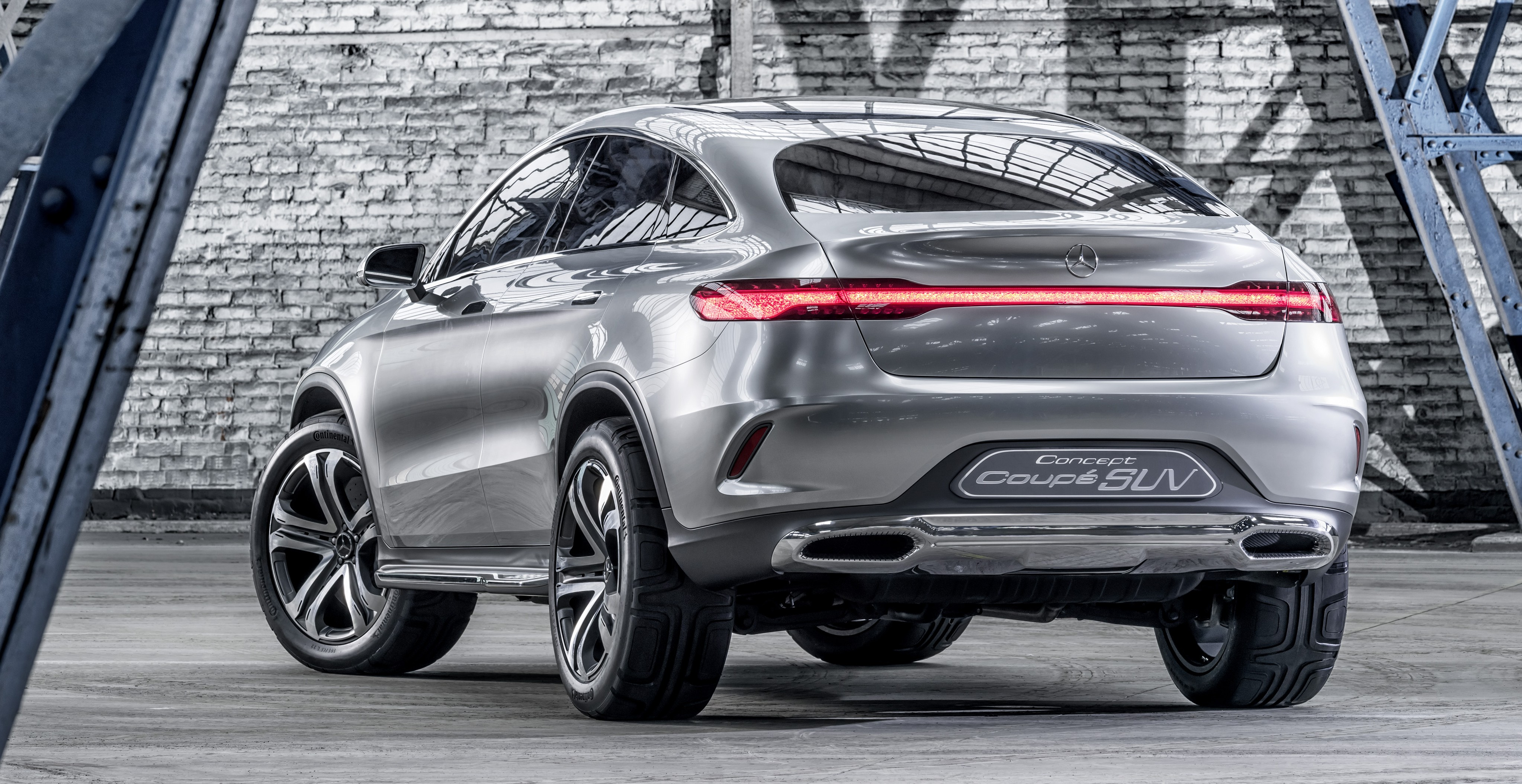 Mercedes Benz Coupe Suv Concept Previews X6 Rival Image 242561